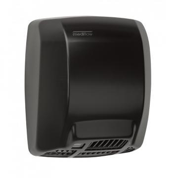 Uscator maini Mediflow, otel negru, senzor