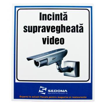 Placuta Incinta supravegheata video