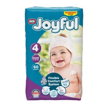 Scutece copii Joyful, 80 buc/set, marime 4, Mini, 7-18 kg de la Europe One Dream Trend Srl