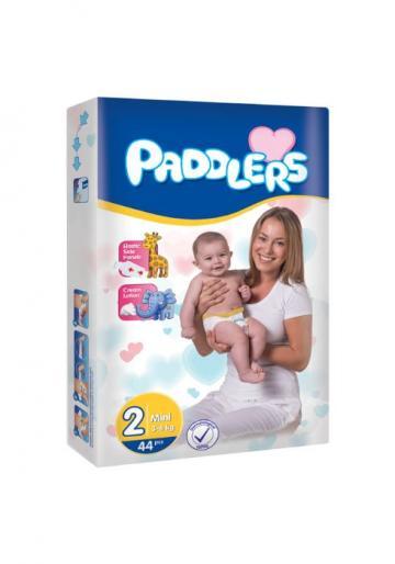 Scutece copii Paddlers, marime 2, 320 buc/set, Mini, 3-6 kg de la Europe One Dream Trend Srl