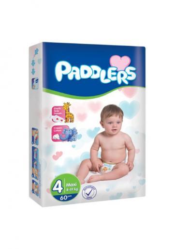 Scutece copii Paddlers, marime 4, Maxi, 120 buc/set, 8-18 kg de la Europe One Dream Trend Srl