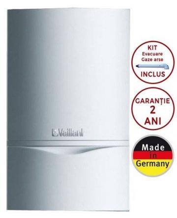 Centrala termica Vaillant ecoTEC Plus VU 486/5-5, 45.2kW de la Axa Industries Srl