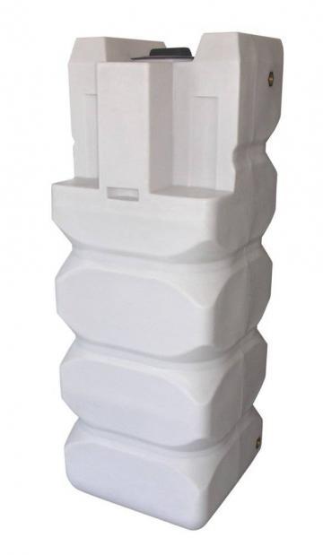 Rezervor apa vertical, patrat, Valrom Aquapur, 300 l de la Axa Industries Srl