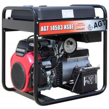 Generator de curent trifazat cu motor Honda AGT 14503 HSBE