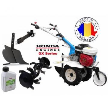 Motosapa AGT 5580 HD motor Honda GX 160 cu plug de bilonat de la Tehno Center Int Srl