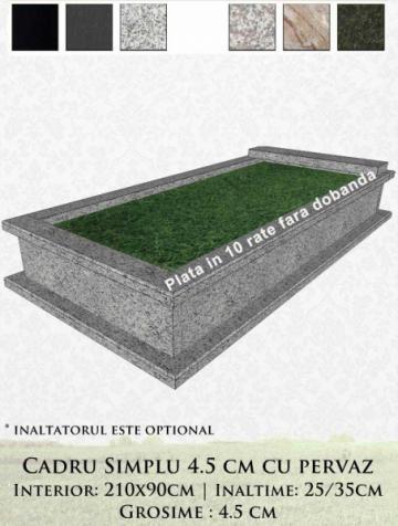 Cadru funerar cu pervaz 4 59 de la Casa Funerara Eva Srl