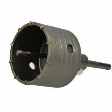 Carota pentru beton 80 mm, Geko G40002, SDS plus de la Viva Metal Decor Srl
