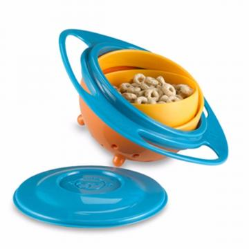 Jucarie Castron Rotativ 360 Gyro Bowl, cu capac de la Preturi Rezonabile
