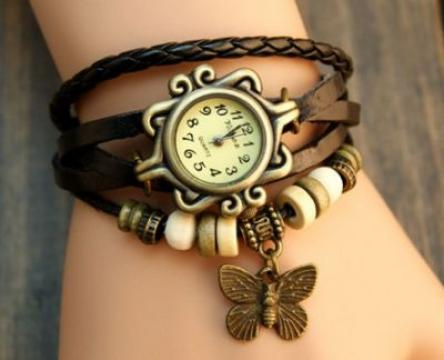 Ceas Butterfly Vintage