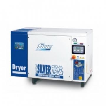 Compresor cu surub si uscator Fiac New Silver D7.5 300 de la Viva Metal Decor Srl