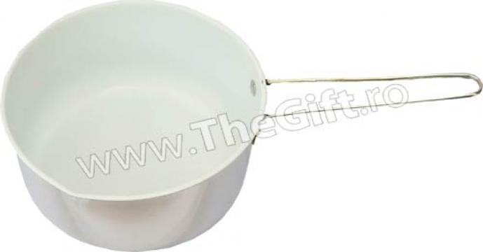 Cratita pentru lapte, cu interior din ceramica