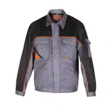 Jacheta protectie Profesional, gri-negru, marimea 52