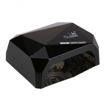 Lampa manichiura CCFL/LED Lila Rossa Diamond 36W negru