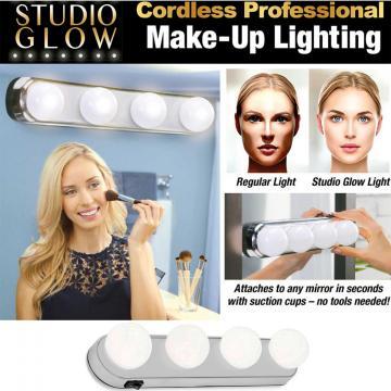 Lampa de machiaj cu leduri pentru oglinda de la Plasma Trade Srl (happymax.ro)