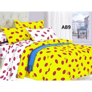 Lenjerie pentru pat dublu Love de la Preturi Rezonabile