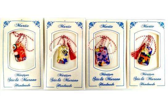 Martisor sticla de murano (MMR10)