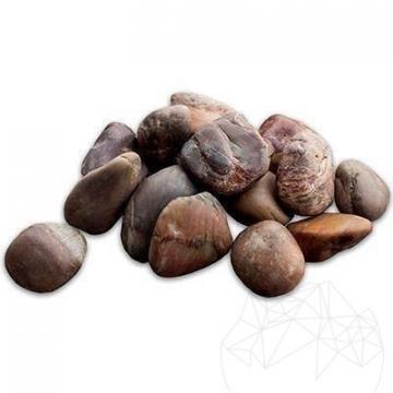 Piatra naturala ornamentala Pebble Brown Polished Sac 20 kg de la Piatraonline Romania