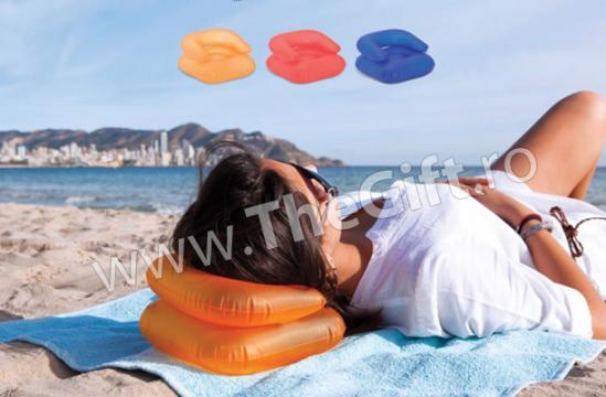 Perna de plaja, gonflabila, in forma de fotoliu de la Thegift.ro - Cadouri Online