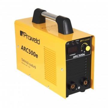 Invertor sudura ProWeld ARC500e + electrozi si manusi