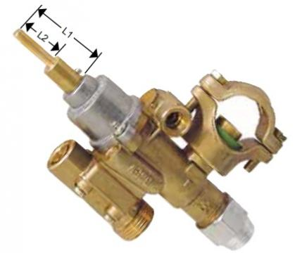 Robinet de gaz PEL 22S/O, intrare gaz 21mm 101469 de la Kalva Solutions Srl