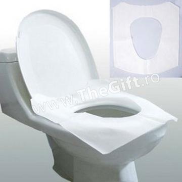 Set 10 huse, protectii pentru colac wc de la Thegift.ro - Cadouri Online