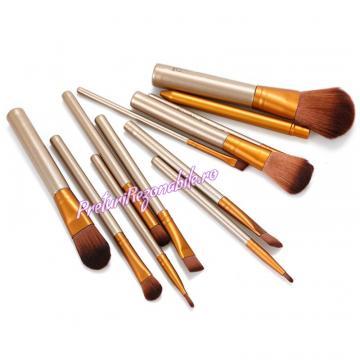 Set 12 pensule pentru make-up, cutie