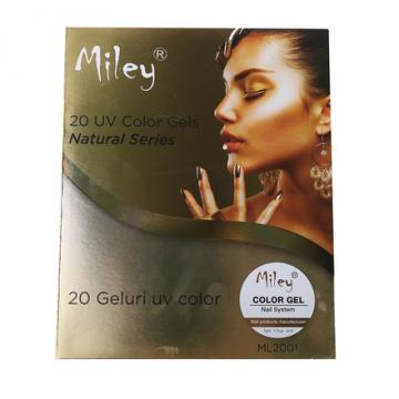 Set geluri unghii Color Miley 20 culori Natural Series de la Preturi Rezonabile