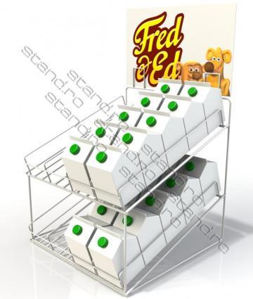Stand de sarma pentru cutii de lapte 1547