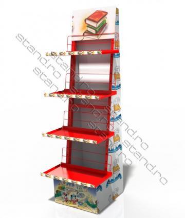 Stand display polite tabla pentru carti 0336