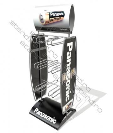 Stand pentru blistere baterii 0959