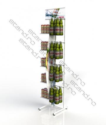 Stand sticle si doze de bere 0734 de la Rolix Impex Series Srl