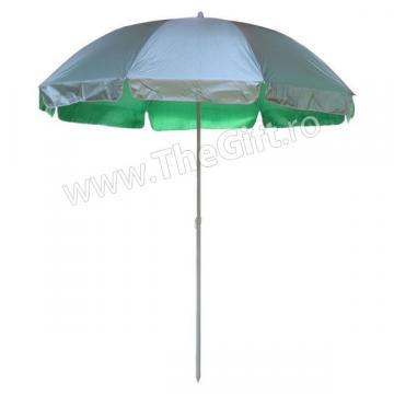Umbrela mare de plaja sau gradina, 220 cm de la Thegift.ro - Cadouri Online