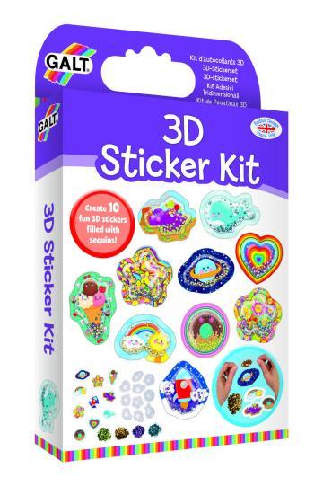 Joc Kit de abtibilduri 3D de la A&P Collections Online Srl-d
