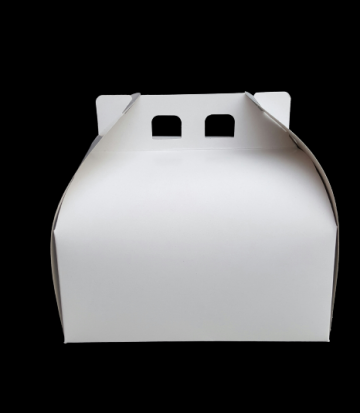 Cutii albe tort CT1 (25x25x16cm) 25 buc/set de la Cristian Food Industry Srl.