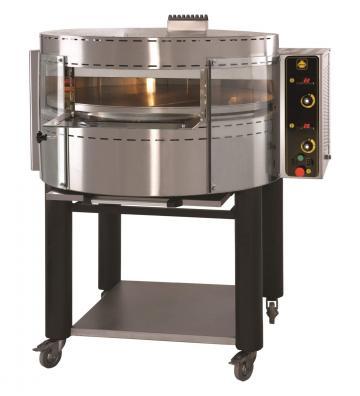 Cuptor pe gaz pentru pizza rotativ RP1 de la Clever Services SRL