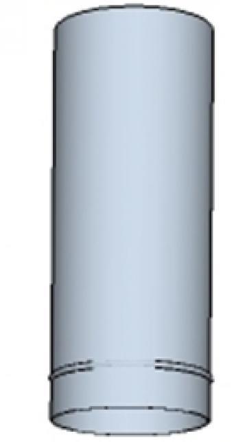 Tub rotund din otel inoxidabil 180 500mm
