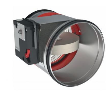 Amortizor circular ignifug 400 CR2+ de la Ventdepot Srl