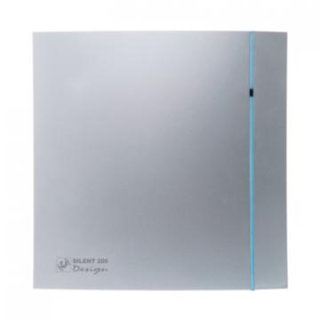 Ventilator de baie Silent-100 CRZ Silver Design Ecowatt de la Ventdepot Srl
