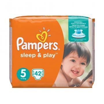 Scutece Pampers SleepPlay 11-16kg Junior 5 (42buc) de la Pepita.ro