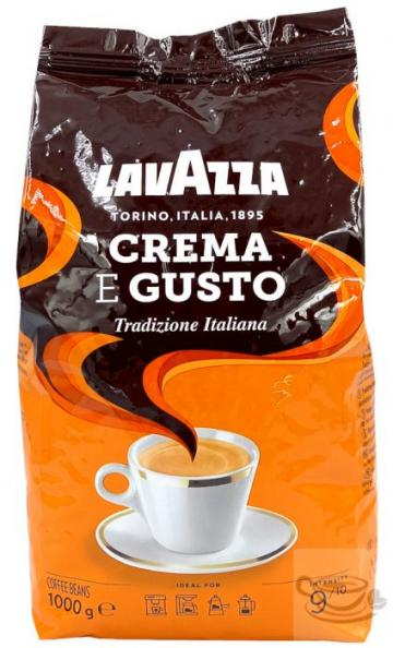Cafea boabe Lavazza crema e gusto tradition 1 kg. de la Activ SDA SRL