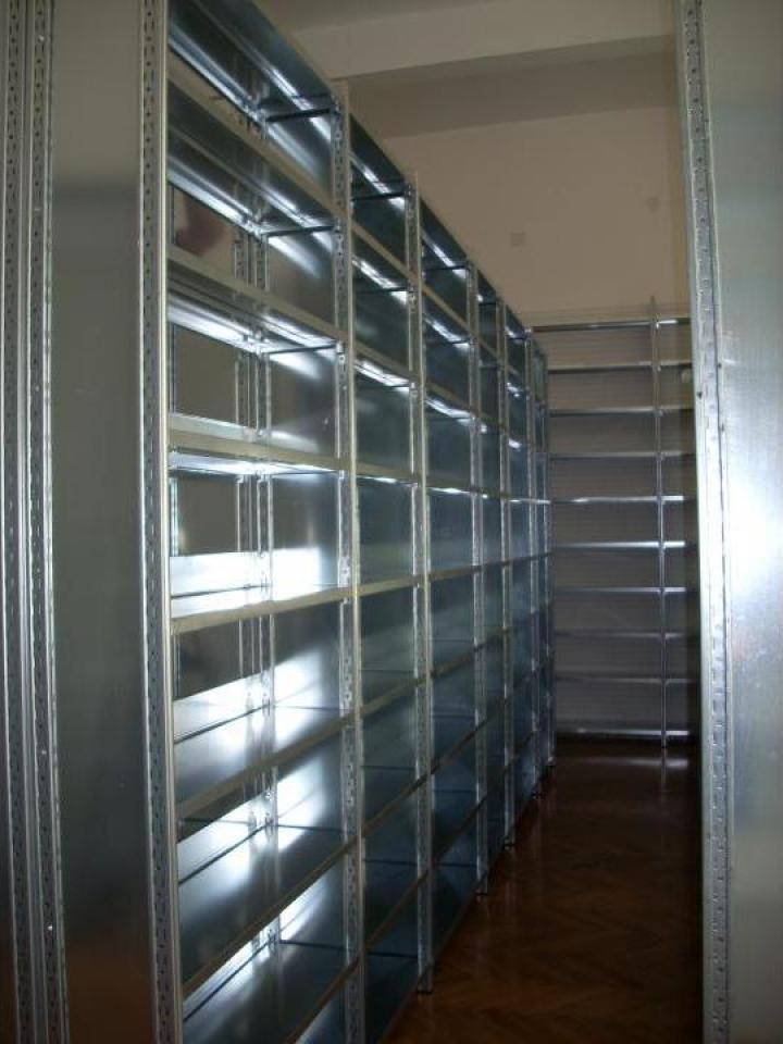 Rafturi metalice cu polite 600*1200*2000H-5NIV