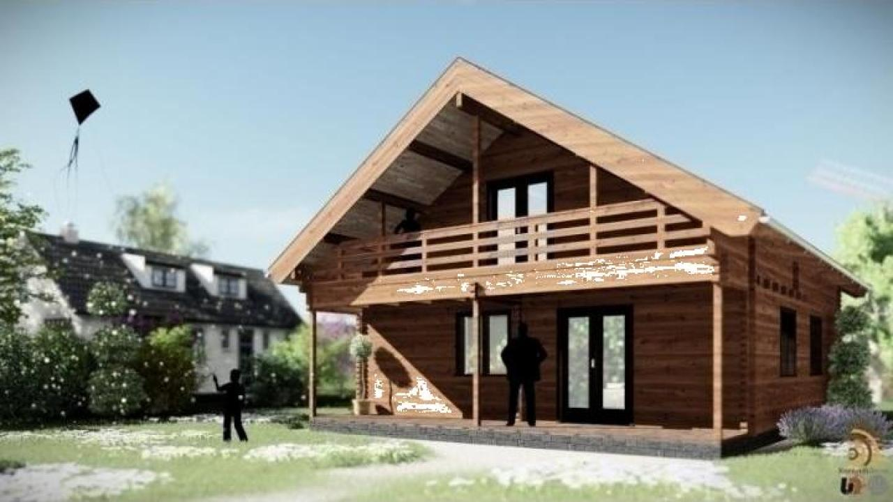 Casa de locuit din lemn Sambeek
