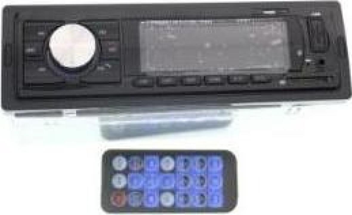 Radio MP3 player 1 DIN cu Bluetooth Spirit Well