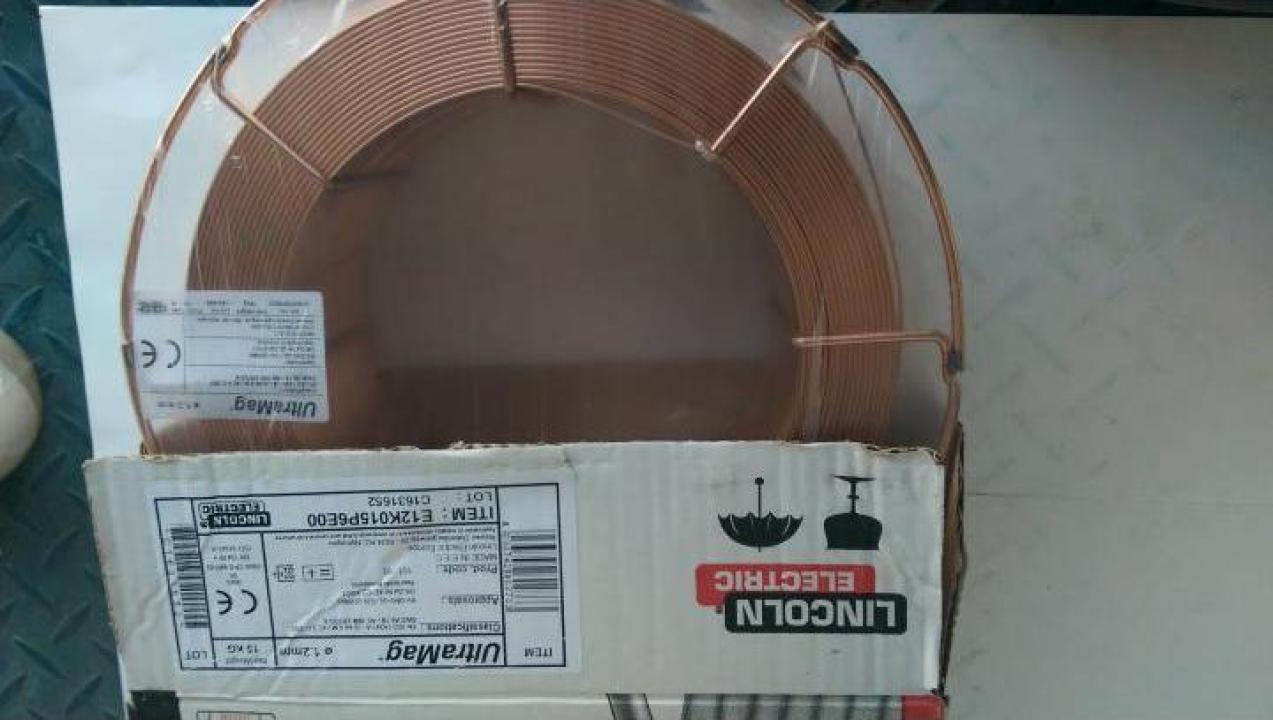 Sarma sudura SG2 Ultramag Lincoln Electric