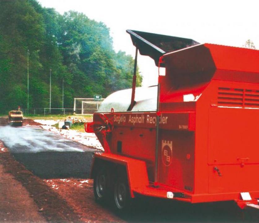 Reciclator asfalt Bagela