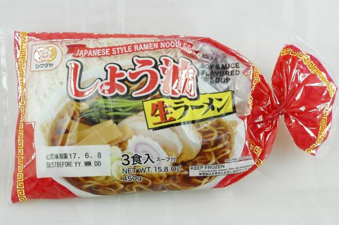 Taitei pentru supa ramen cu baza de soia