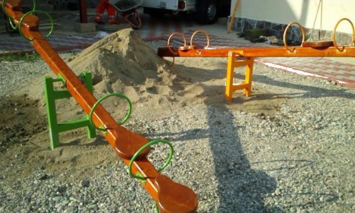 Balansoar 2 Locuri.Balansoare Pentru Copii Din Sisteme De Joaca Pentru Parcuri