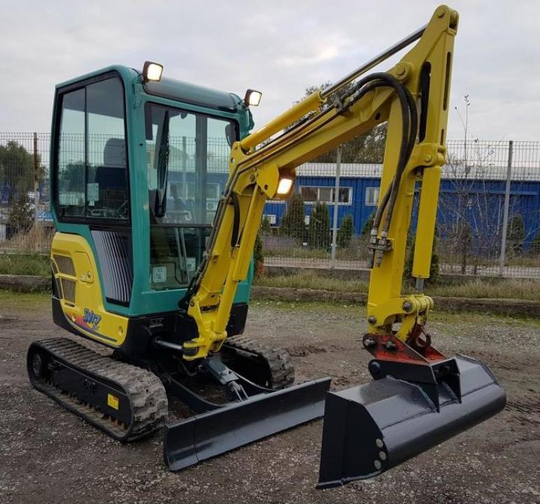 miniexcavator yanmar sv 17 ex galati sc snogal srl id. Black Bedroom Furniture Sets. Home Design Ideas