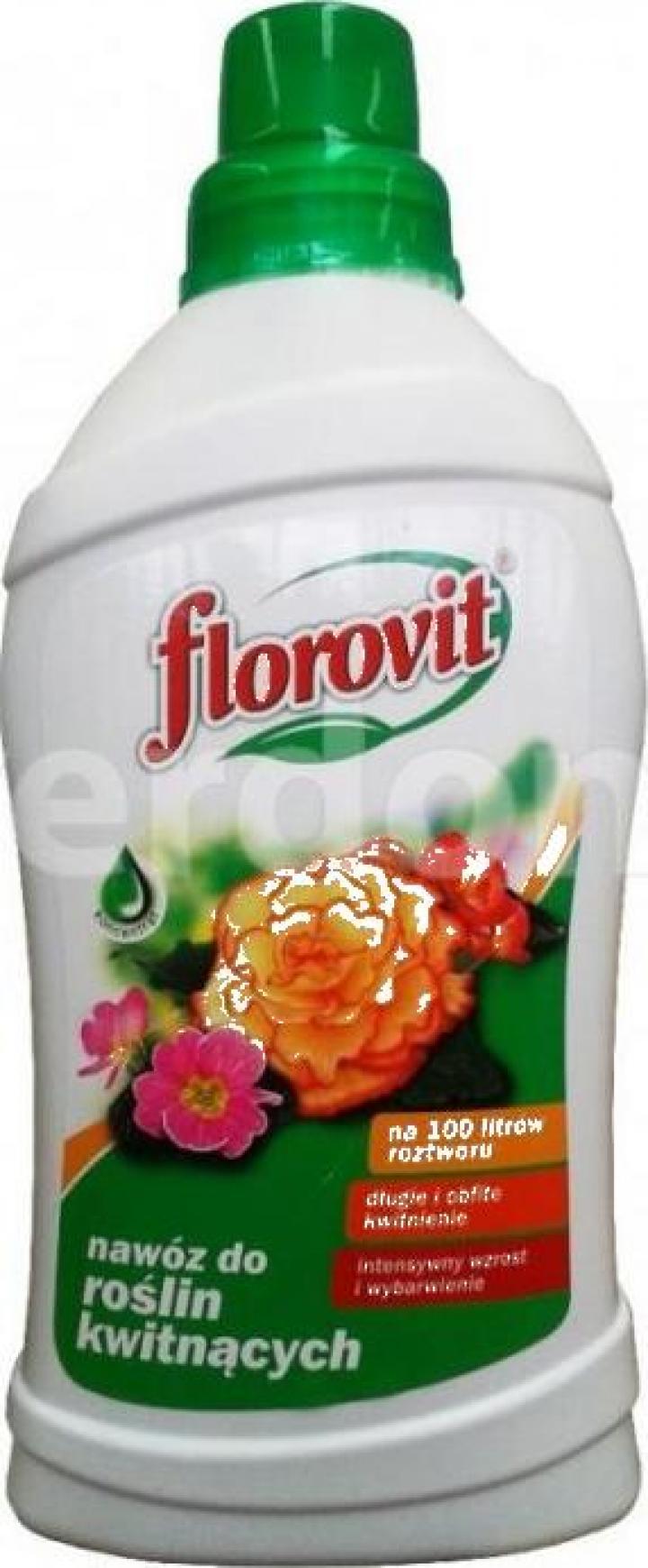 Ingrasamant specializat lichid pentru plante cu flori