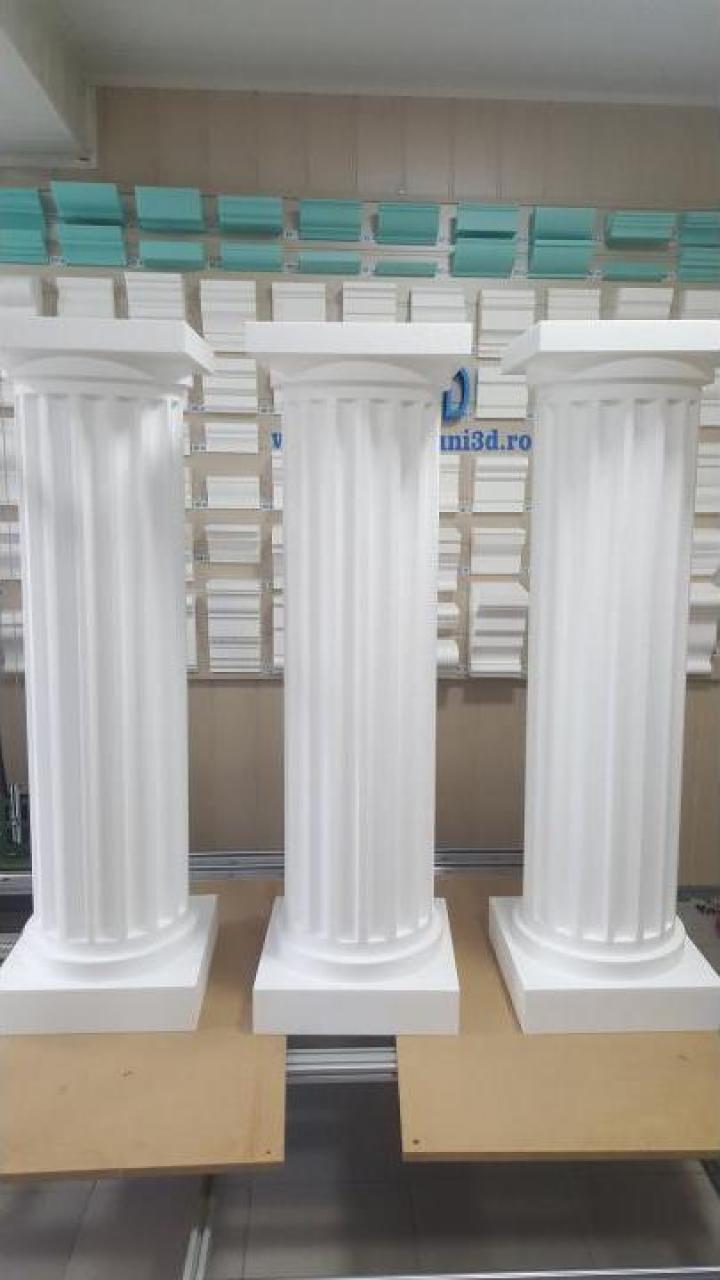 Coloane decorative din polistiren